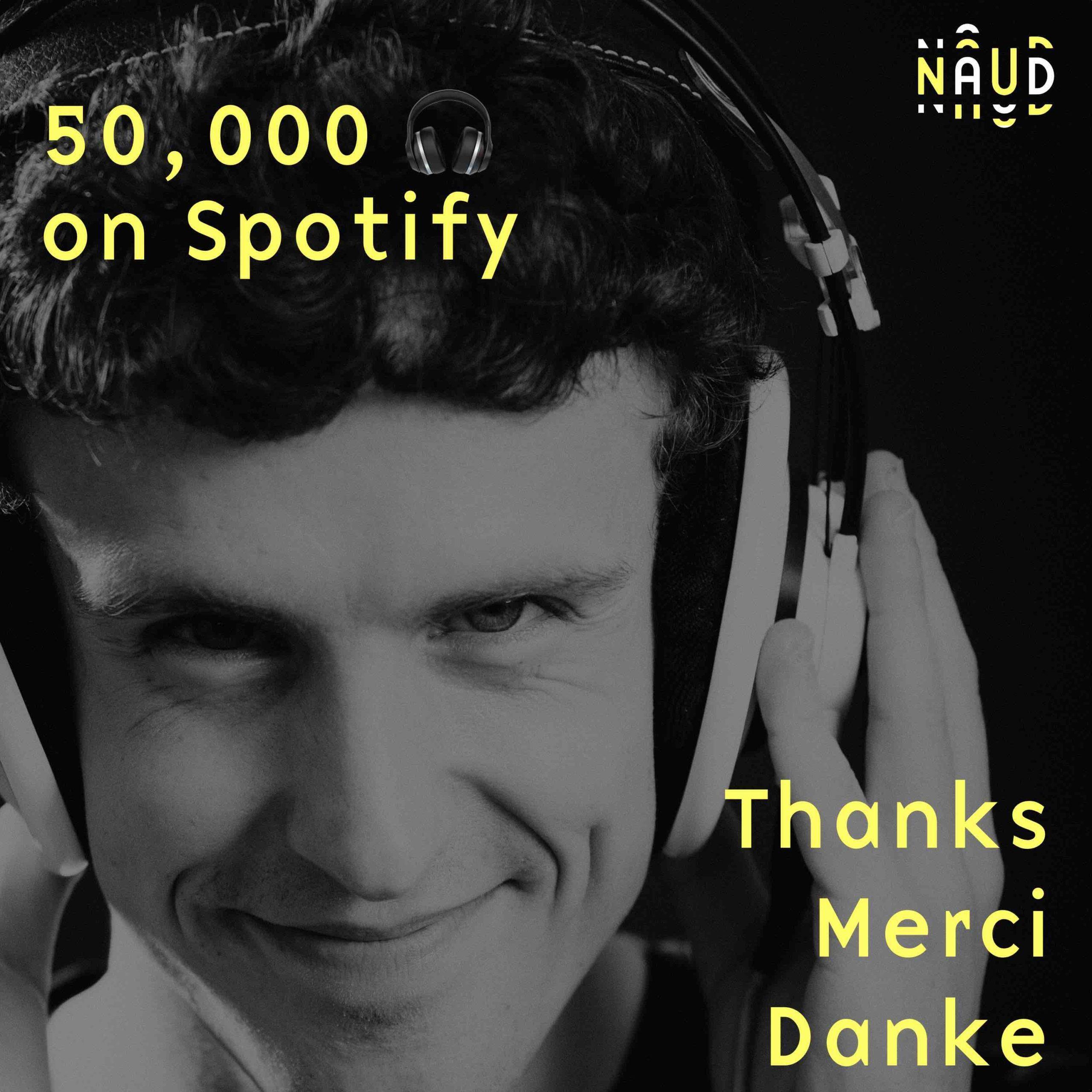merci pour les écoutes spotify